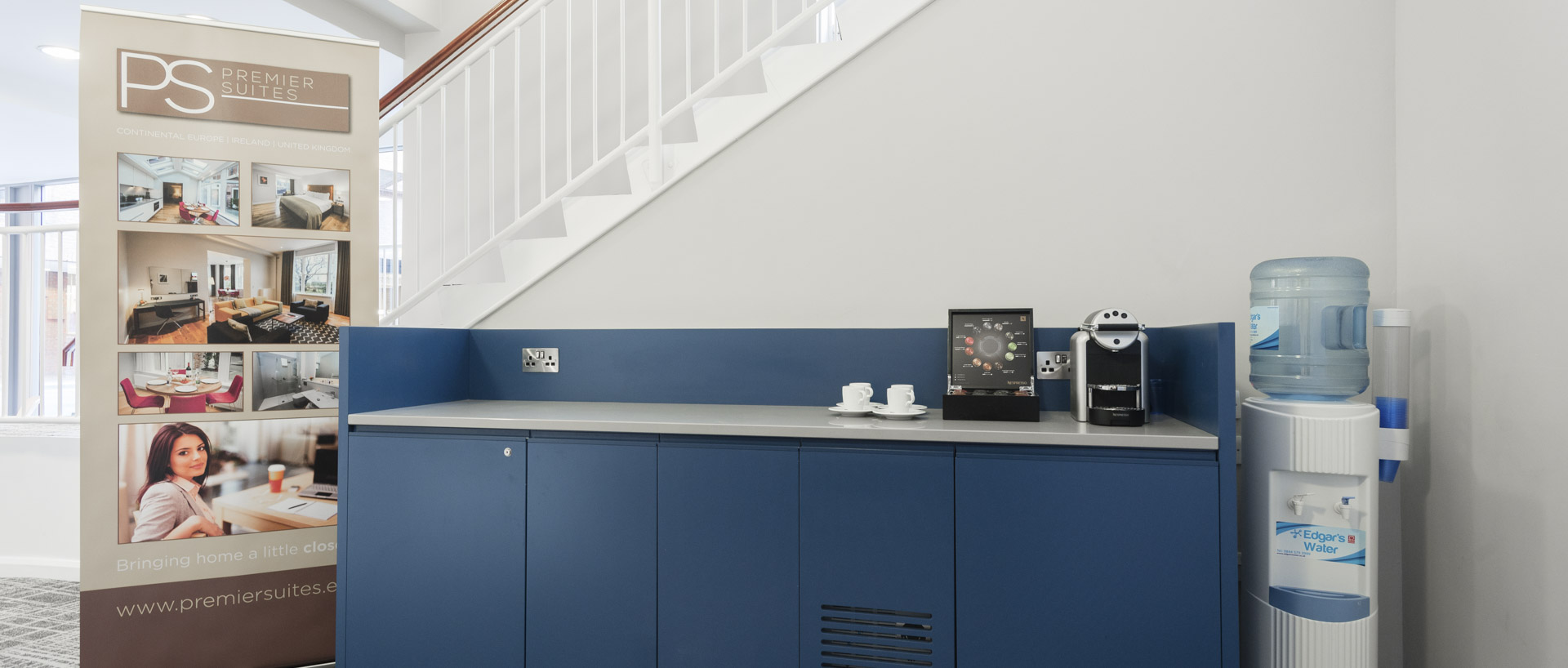 PREMIER SUITES Reading serviced apartments coffee station
